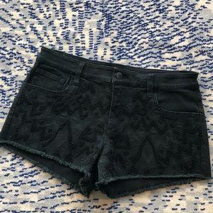 NWT Joe's Jeans beaded shorts SIZE 26